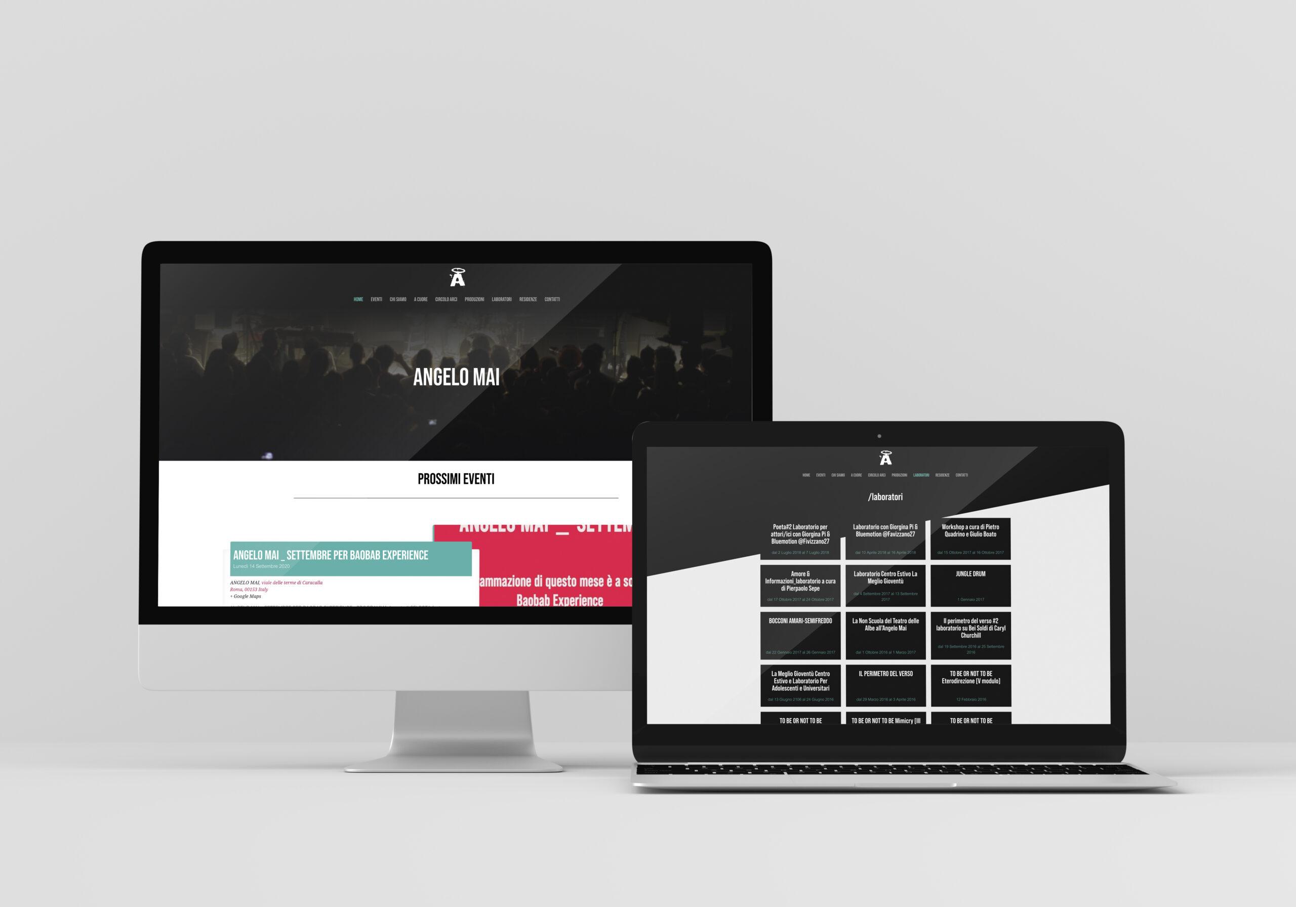 sito web angelomai