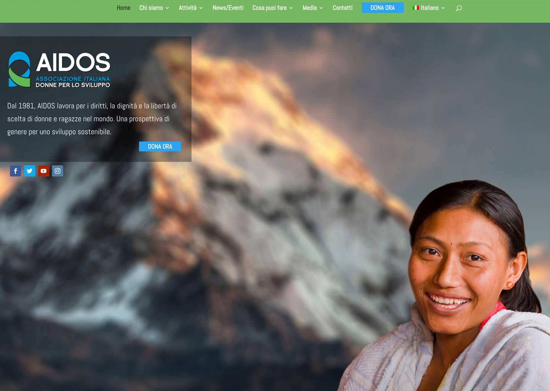Homepage di aidos.it