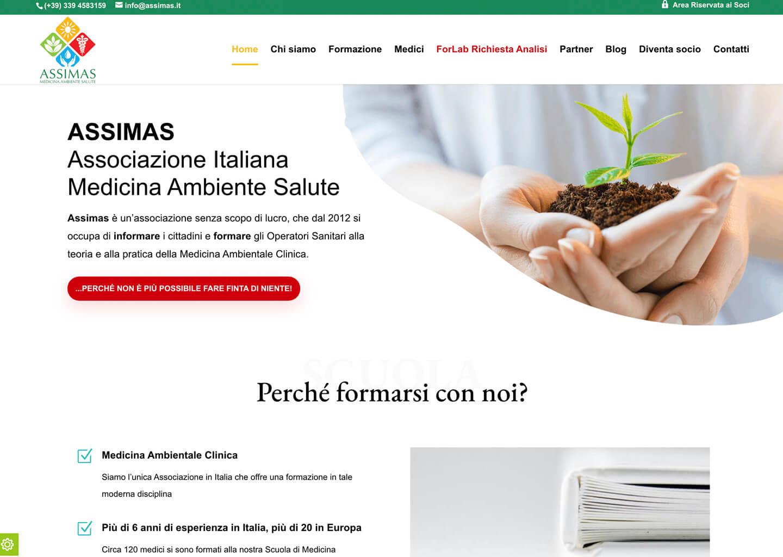 Homepage Assimas