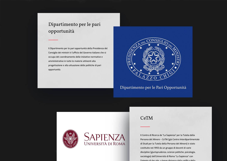 Pagina partner del progetto nessunospazioallaviolenza.it