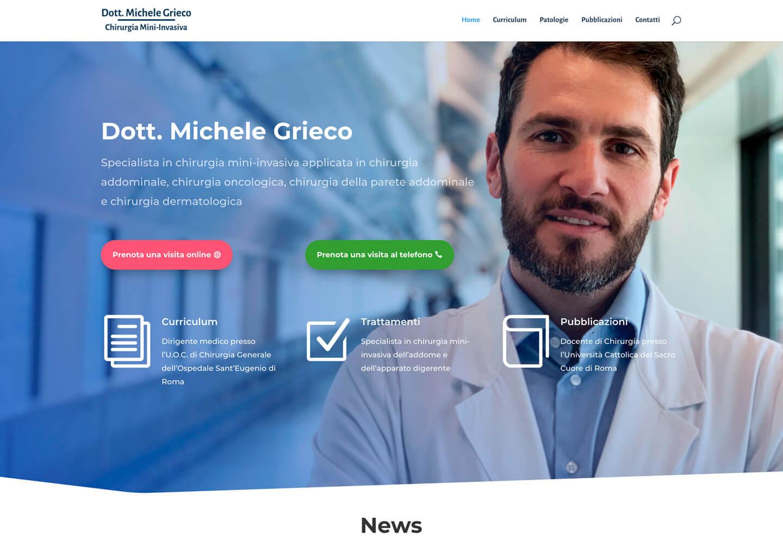 Homepage di michelegrieco.it