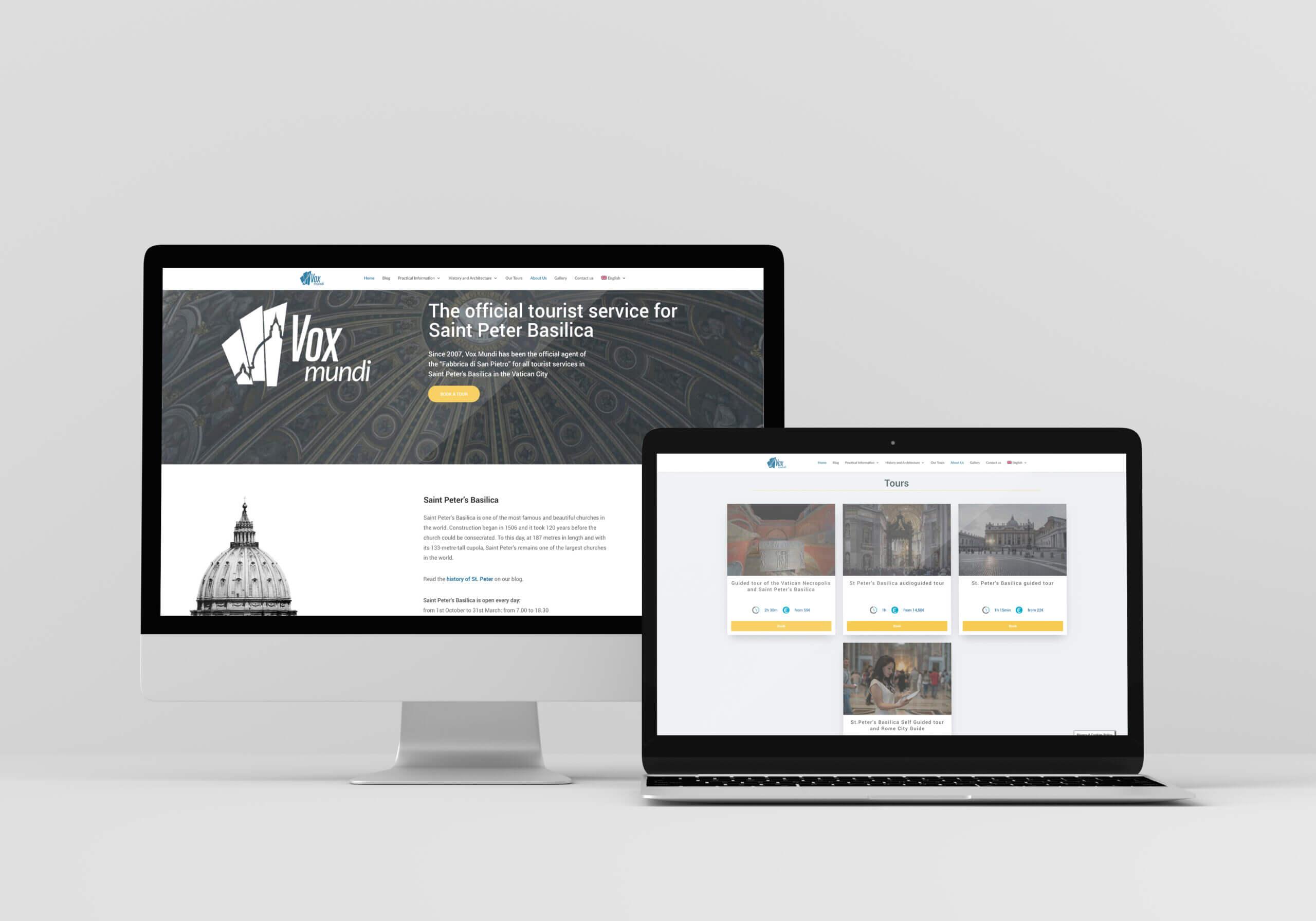 Sito web di voxmundi.eu