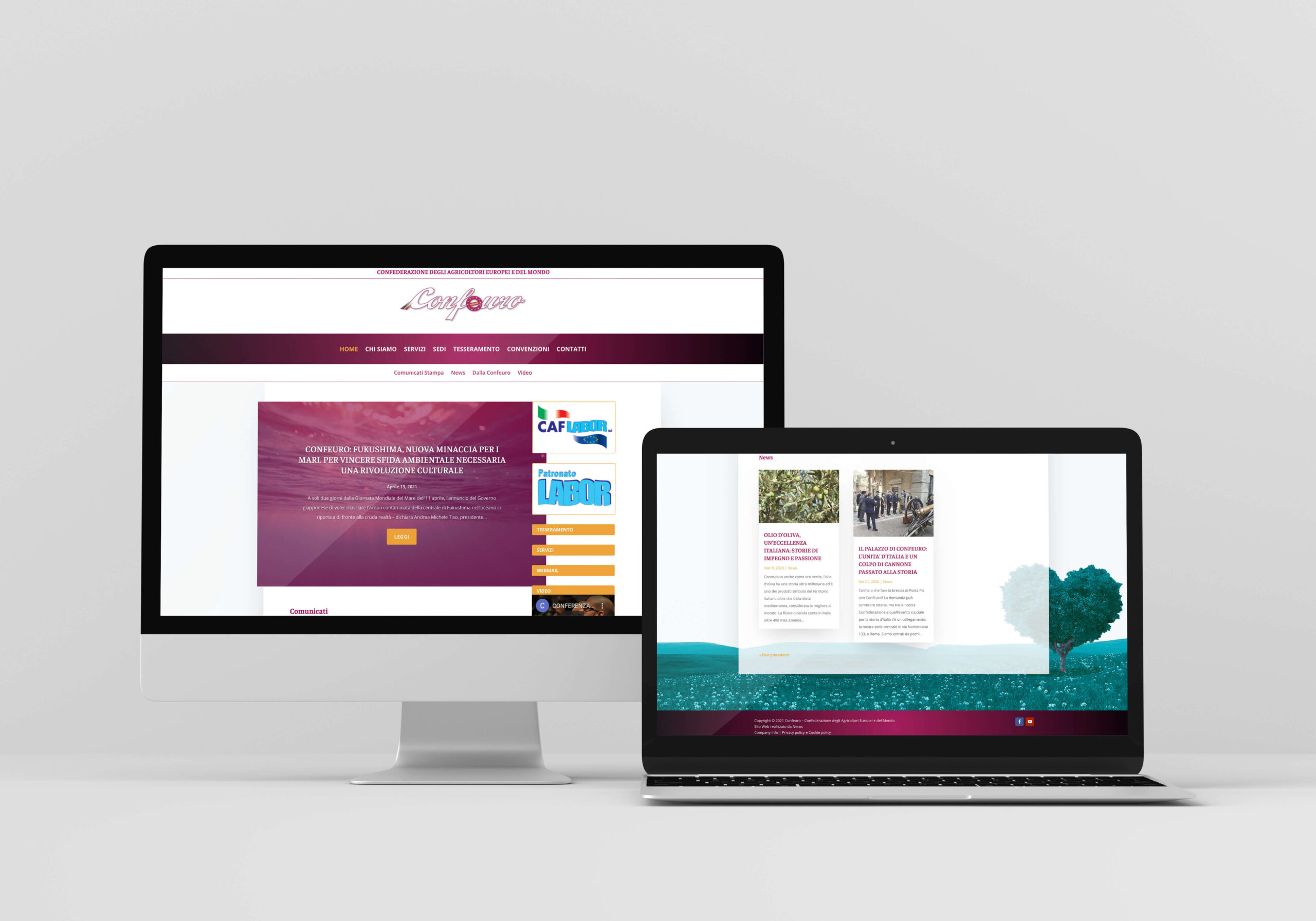 Sito web di fondazionedechirico.org